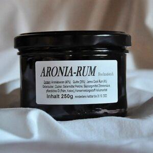 Fruchtaufstrich Aronia- Rum 250 g