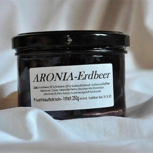 Fruchtaufstrich Aronia – Erdbeer 250 g