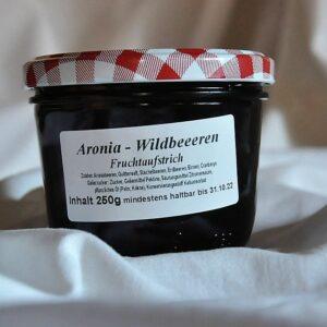 Fruchtaufstrich Aronia – Wildbeeren 250 g